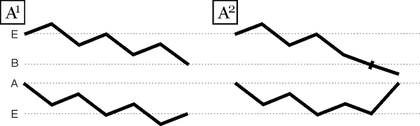 A1 A2 zigzag diagram