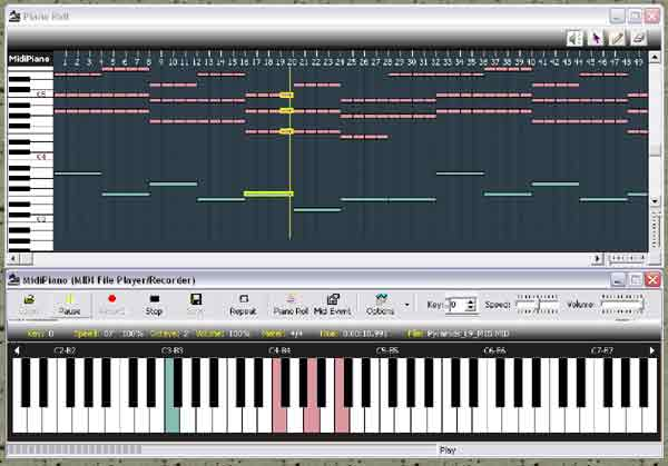 piano midi files, free piano lessons online, midi piano