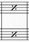 one-bar repeat sign