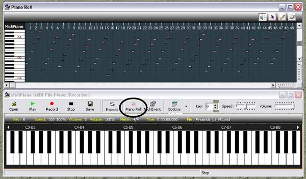 midi piano music, piano midi files